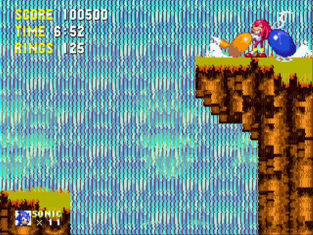 Sonic the Hedgehog 3 - Misc furious - >:( - User Screenshot